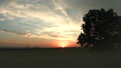 Timelapse sunset Stock Footage