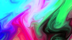 Stock Video Footage of Blue Red Green Slow Moving Backround