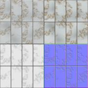 Stock Illustration of Rusty metal panels seamless generated hires texture (diffuse, bump and normal