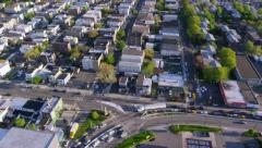 Aerial view of Los Angeles - stock footage