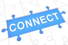 Connect Stock Illustration