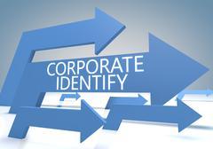 corporate identify - stock illustration