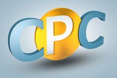 Cost per click Stock Illustration