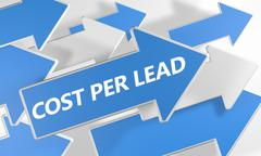 Stock Illustration of cost per lead