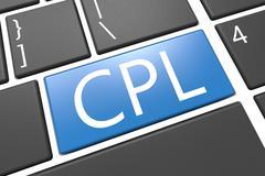 cost per lead - stock illustration