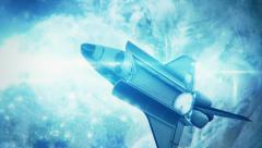 Space Shuttle in HD Stock Footage