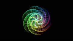 Spiral An Optical Illusion Seamless Vj Loop Stock Footage