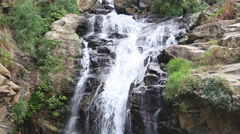 View of Ravana Falls in Ella. Stock Footage