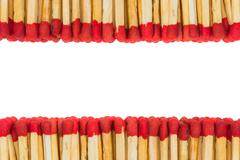 matchstick isolated - stock photo
