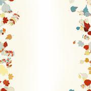 Beautiful autumn Leaves. - stock illustration