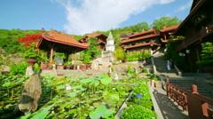 Chau Doc Temple, Vietnam Stock Footage