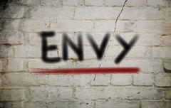 Envy concept Stock Illustration
