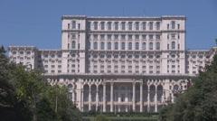 World landmark, important building, biggest building world wide after Pentagon  Stock Footage
