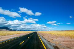 highway in chile - stock photo