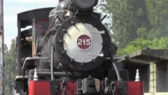 Stock Video Footage of Locomotive steam train