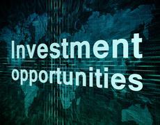 investment opportunities - stock illustration