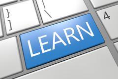 learn - stock illustration