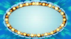 Casino banner wedding lights background loop - 1080p - stock footage