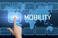 Stock Illustration of mobility