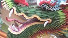 Nantian Temple in Taiwan Stock Footage