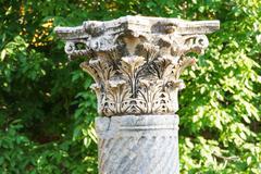 corinthian capitals - stock photo