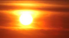 Impresive Sunrise Stock Footage
