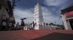 Kampung Kling Mosque, Melaka, Malaysia, slow-motion Stock Footage