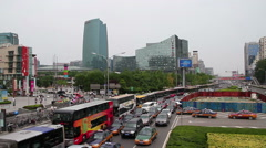 Zhongguancun village at daytime HD Stock Footage
