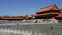 Palace museum at daytime HD Stock Footage