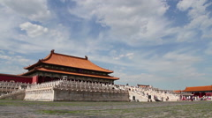 Palace museum at daytime. Taihedian HD. Stock Footage