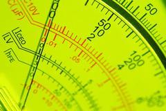 Electric multi meter Stock Photos