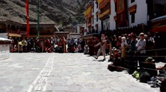Hemis Festival In Ladakh Stock Footage