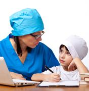 Medical family Stock Photos