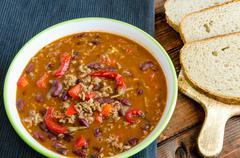 Stock Photo of chilli con carne