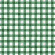 Green gingham pattern repeat background Stock Illustration