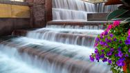Stock Photo of Fountains at Smale Riverfront Park