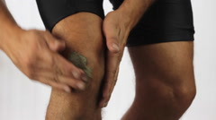 Knee pain clay therapy Arkistovideo