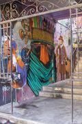 Stock Photo of Murals of Valparaiso