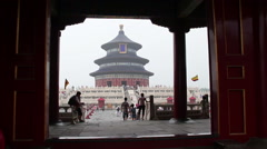Temple of Heaven at daytime HD. Stock Footage