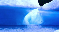 Alaskan ice berg in the Copper River Stock Footage