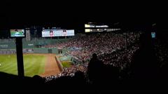 Sports Stadium Boston Stock Footage
