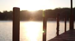 Foggy Lake (Morning) Stock Footage