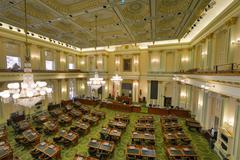 California assembly chamber Stock Photos