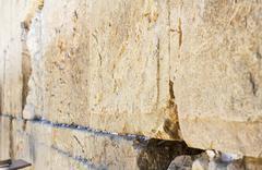 Wailing wall . Stock Photos