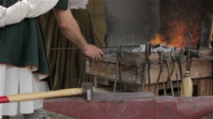 Blacksmith Stock Footage