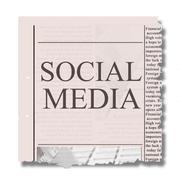 Social media concept Stock Photos