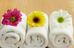 Stock Photo of spa flowers