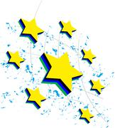star - stock illustration