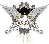 soccer - stock illustration