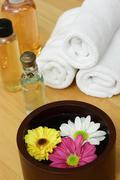 Spa flowers Stock Photos